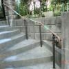 施工後1:玄関アプローチの階段改修