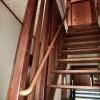 施工後2:室内階段手すり改修
