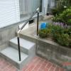 施工後1:花壇横段差改修