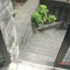 施工前:玄関アプローチの階段改修